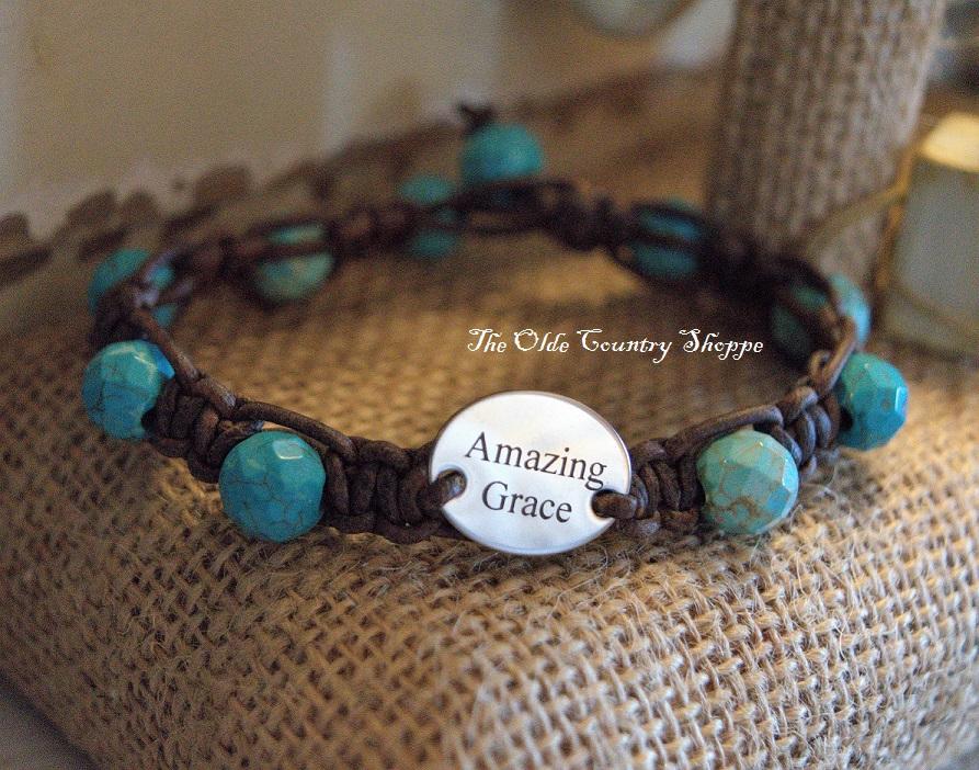 Amazing Grace Turquoise Bracelet