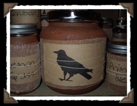 BLACK CROW CANDLES