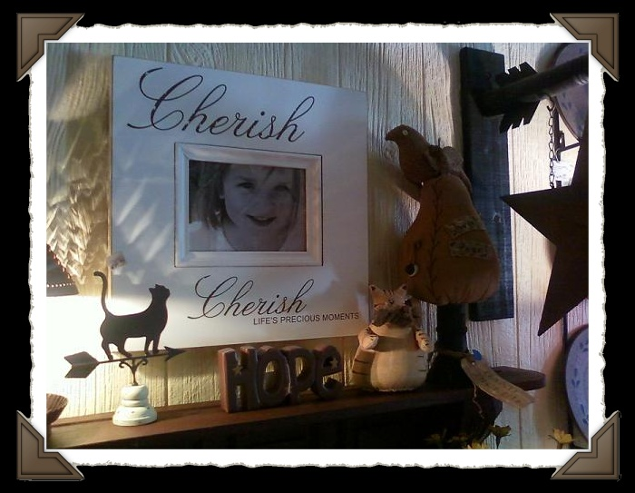 Cherish Wall photo frame
