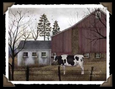 Holstein Print