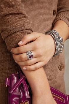 LD Paisley Ring