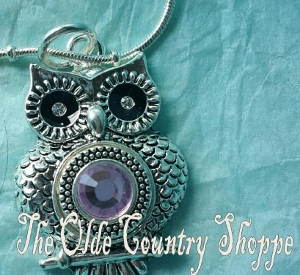 lotti dottie OWL PENDANT NECKLACE