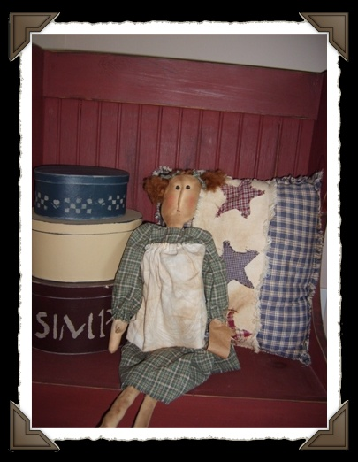 Primitive CARRIE Doll