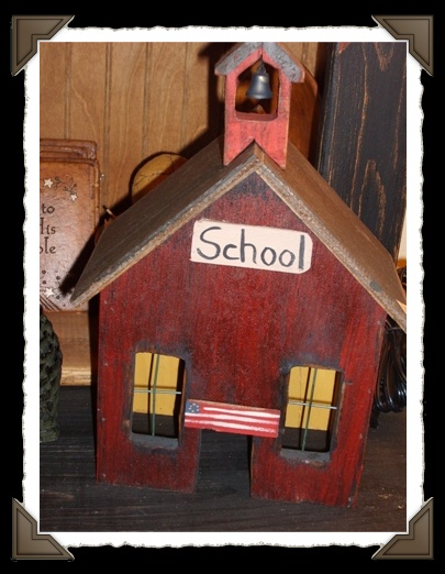 School House w/ light