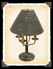 Taylor Colonial Tin Lamp