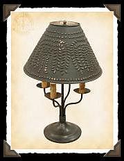 Taylor Colonial Tin Lamp
