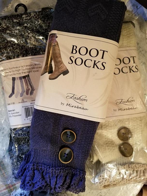 fashion boot socks