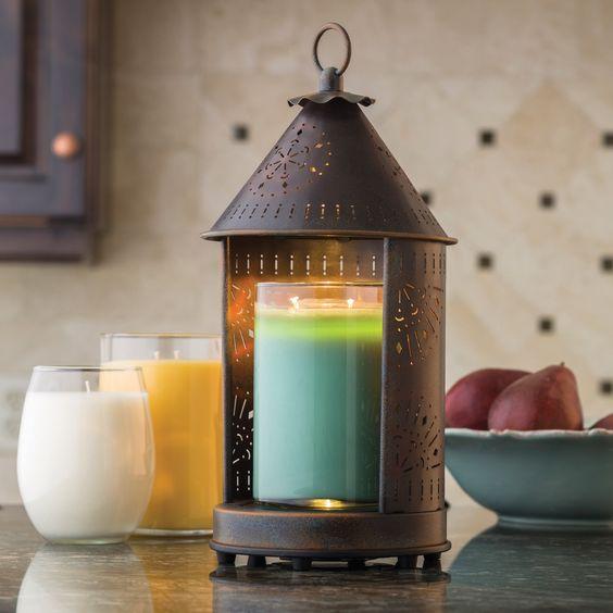 Candle Warmer in Primitive Sunshine