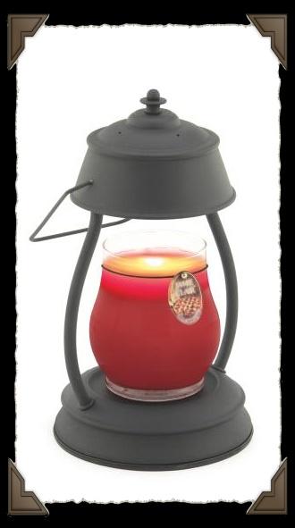 Hurricane candle warmer Lamp
