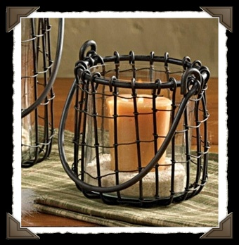 Wire Votive Holder
