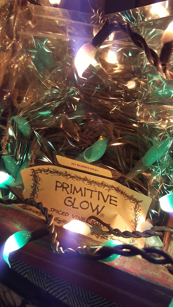primitive glow robin egg lights