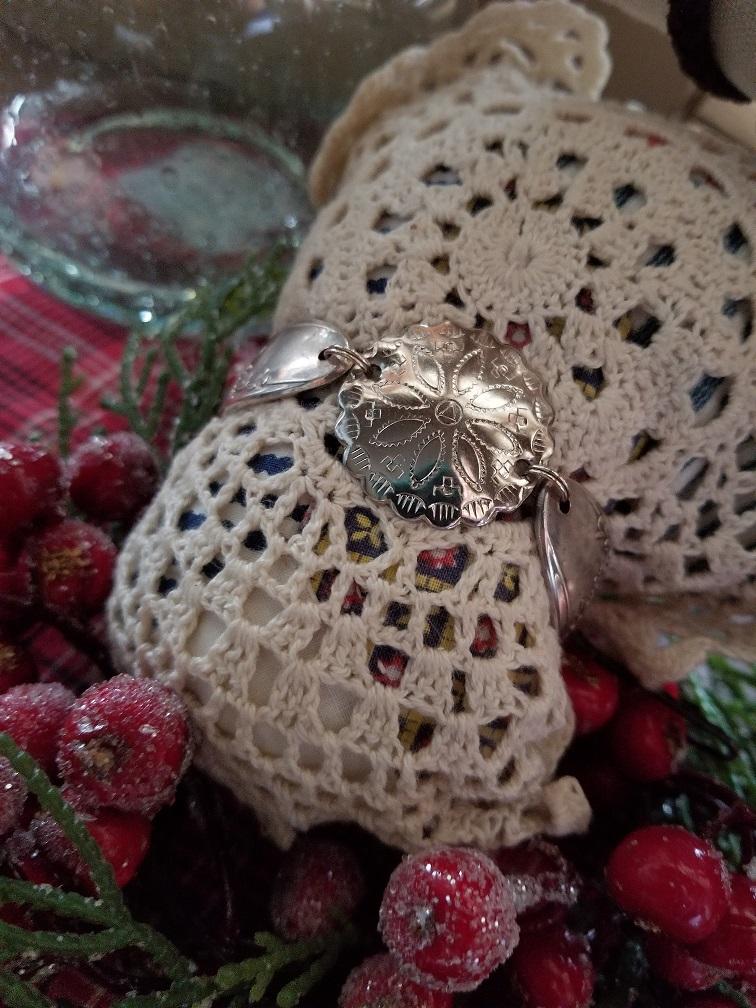 vintage buckle medallion